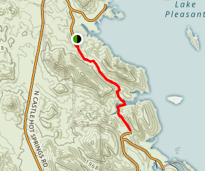 Lake Pleasant Trail Map