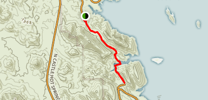 Pipeline Canyon Trail Map
