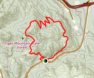 Tiger Mountain Trail Map
