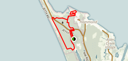 Fort Stevens State Park Trails Map