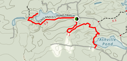 Long Pond Woods Trail Map