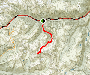 Grays Peak Trail from I-70 Map