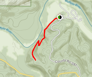 Tyler Bend Trail Map