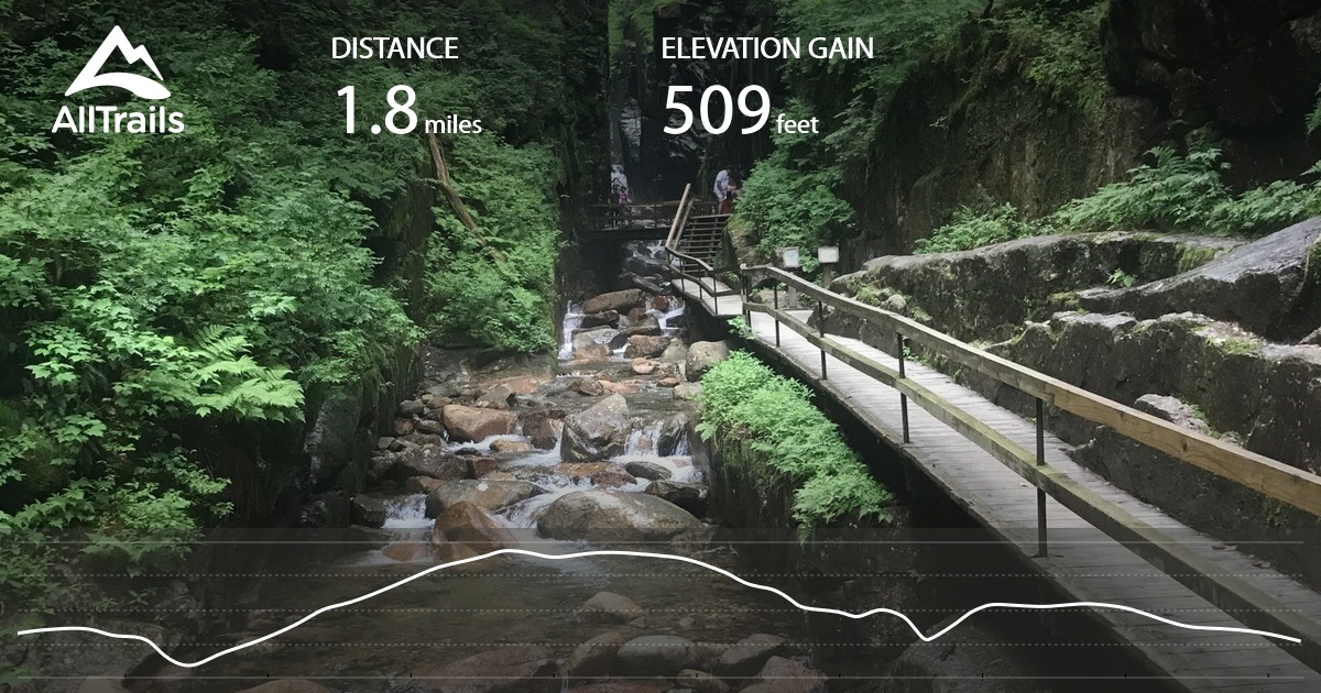 The Flume Trail New Hampshire Maps 180 Photos 184