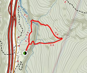 The Flume Trail Map