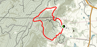 Piedmont Overlook Trail Map