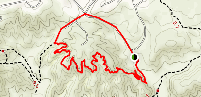 Oakmont and Oakridge Trail Map