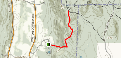 Brace Mountain Trail Map