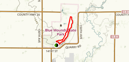 Mound Trail Loop Map