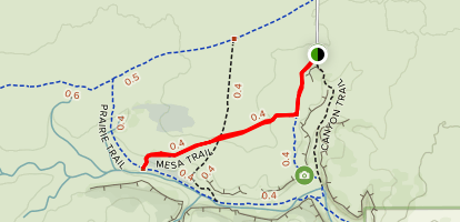 Mesa Trail Map