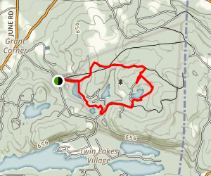 Mountain Lakes Park Trail Map