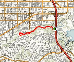 Michael D Antonovich Trail Map