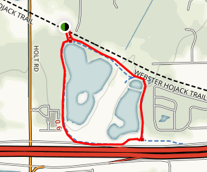 North Ponds Park Trail Map