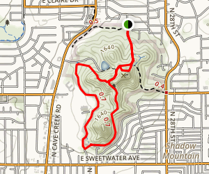 Shadow Mountain Trail Map