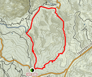 Middle Fork Wheeler Creek Map