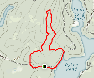 Dyken Pond Map