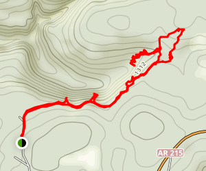 Devils Canyon Scenic Area Trail & Bushwhack Map