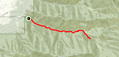 Truman Gulch Trail Map