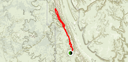 Upper Muley Twist Map