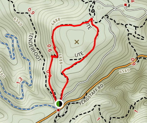 Ute and Range View Trails Map