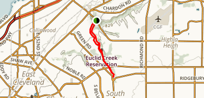 Euclid Creek Metropolitan Park Map