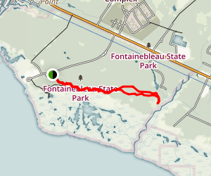 Fontainbleau State Park Map