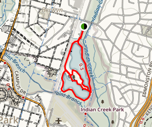 Lake Artemesia Natural Area Trail Map