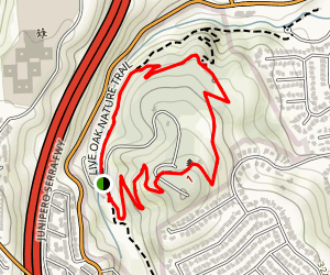 Junipero Serra Park Trail Map