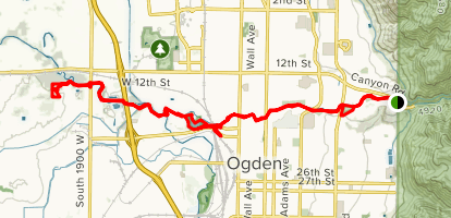 Ogden River Parkway Trail Map