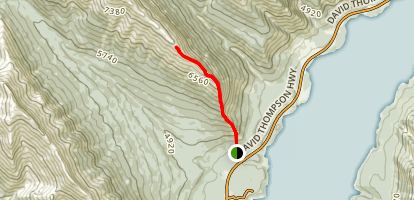 Vision Quest Ridge Scramble Trail Map