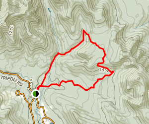 Livermore Road Trail Map
