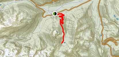 Owyhigh Lakes Trail Map
