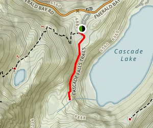 Cascade Falls Trail Map