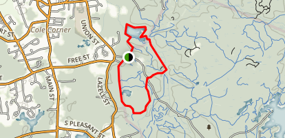 Triphammer Pond Loop Map