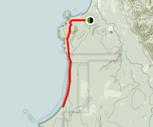 Shi Shi Beach Trail Map