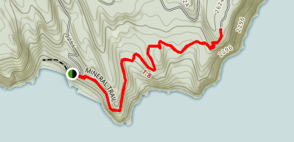 Mineral Trail Map