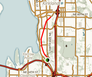 Cross Kirkland Corridor Map