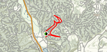 Blowing Springs Trails Map
