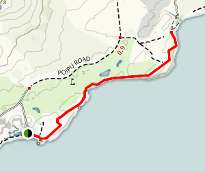 Mahaulepu Beach Trail Map