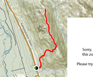 King Creek Ridge Map