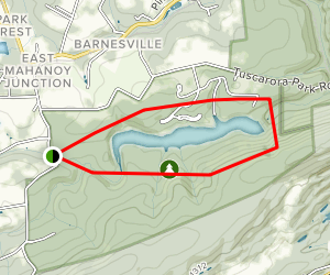 The Spirit Of Tuscarora Trail Map