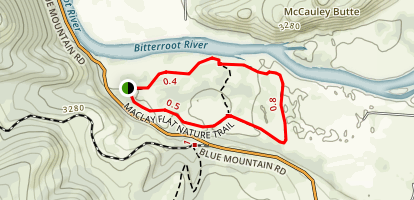 Maclay Flat Nature Trail Map