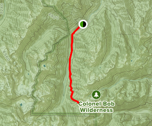 Upper Dungeness Trail Map