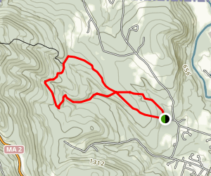 Hopkins Memorial Forest Trail Map