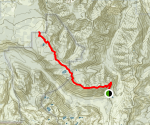 Goat Mountain Trail Map