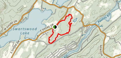 Swartswood Spring Lake Trail Map