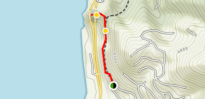 Cave Rock Trail Map