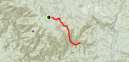 Wagner Gulch Trail Map