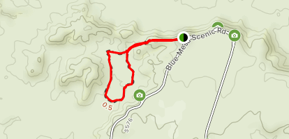 Blue Mesa Trail Map