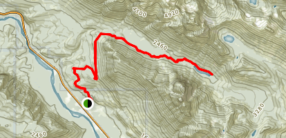 Barclay Creek Trail Map